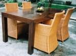 kode produk : set 62 |  bahan : rotan, kerangka kayu mahoni | harga :  SMS